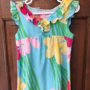 Lilly Pulitzer Dresses - Lilly Pulitzer Girls Sz Small (4-5) cotton dress